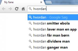 google HVORDAN